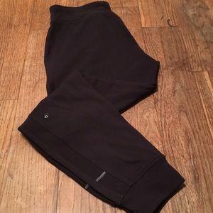 Lululemon ready to rulu pants joggers black Sz 8